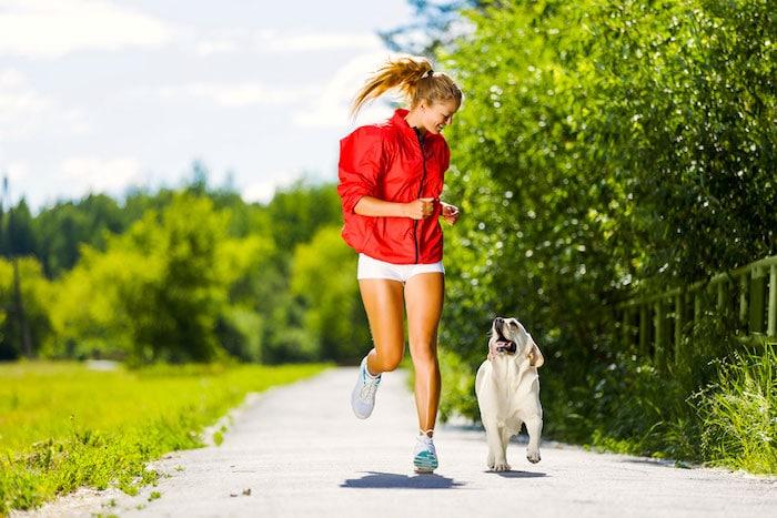 El ejercicio ayuda a los problemas de conducta en los perros