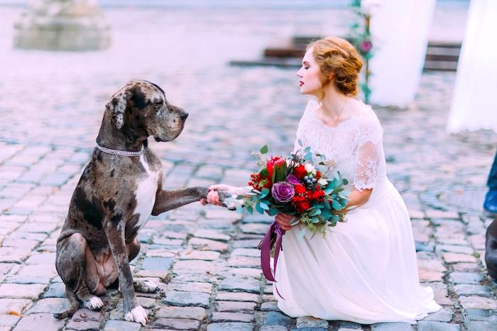 Grandes maneras de incluir a tu perro en tu boda