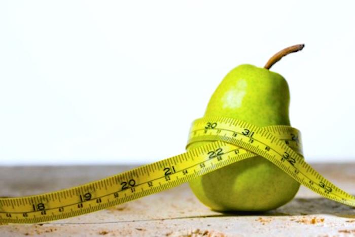 Dieta para un cuerpo en forma de pera