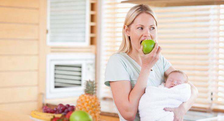 Mejor dieta para las mamás que amamantan