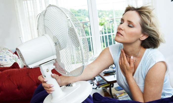 Los síntomas de la menopausia femenina