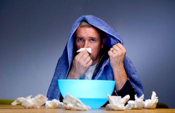 Cura natural a la infección sinusal