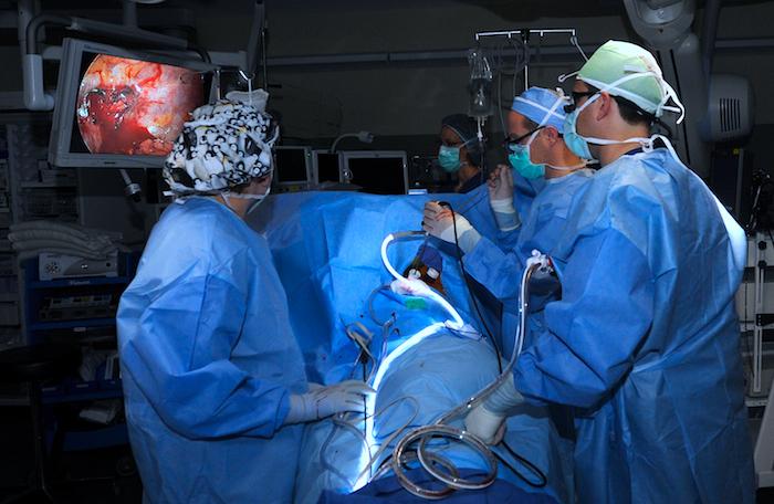 Cirugía para el cáncer de pulmón