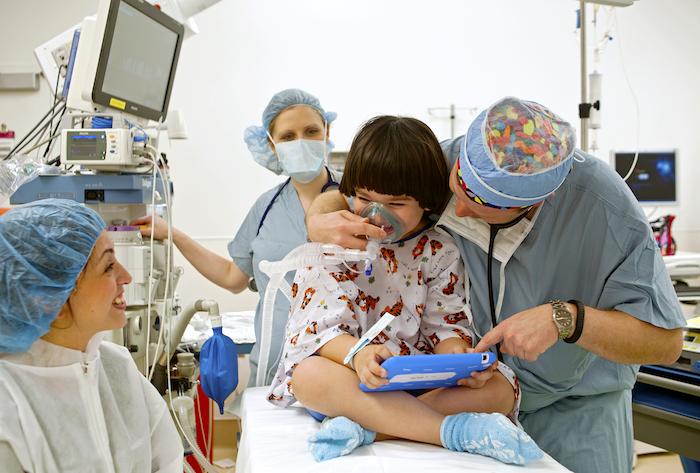 Cirugía y niños
