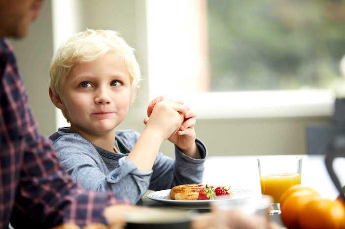 Ninos y plan de alimentacion saludable