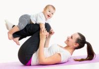 Perder el peso del embarazo