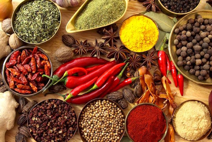 Beneficios para la salud de las especias indias