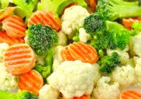 Dieta de alimentos congelados