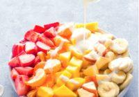 Recetas de ensaladas de fruta saludables