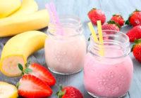 Batidos saludables de frutas