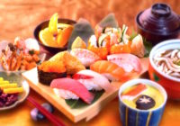 Comida japonesa saludable