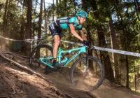 Entrenamiento para ciclismo de montaña cuesta abajo