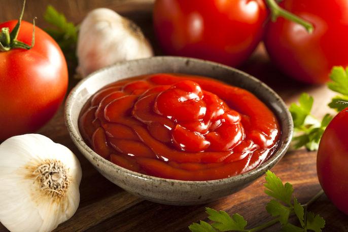 Beneficios saludables de ketchup