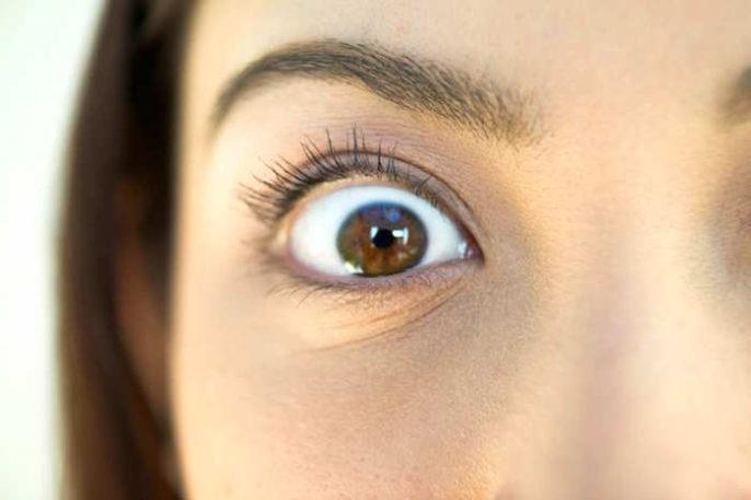 Causas de la contracción del ojo