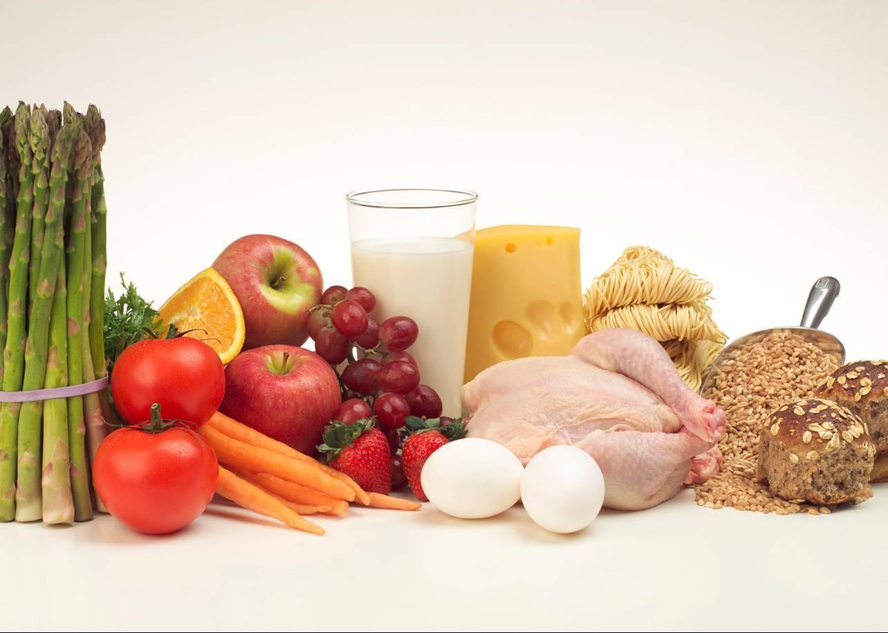 吃的食物,而不是蛋白质粉