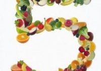 5 par jour, quantité quotidienne recommandée de fruits et de légumes