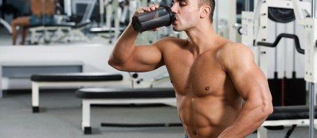 Tomar batidos de proteínas