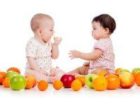 Nutrición para los bebés y los niños en edad preescolar