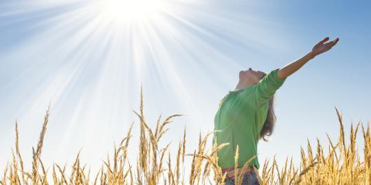 हृदय स्वास्थ्य के लिए सूर्य के लाभ