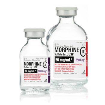 Sulfate de morphine pour traiter la douleur à long terme