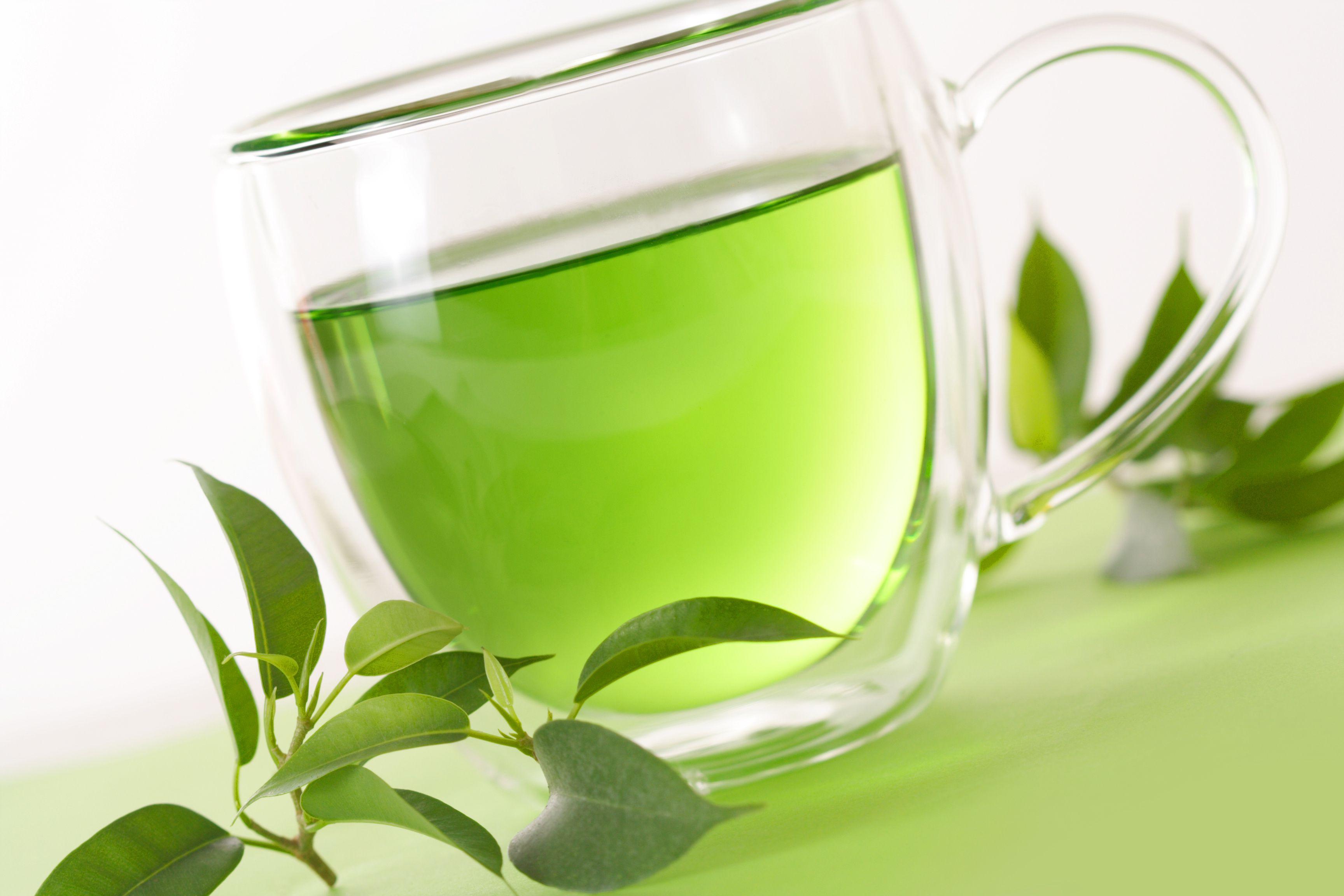 Você verde baixo teor de cafeína