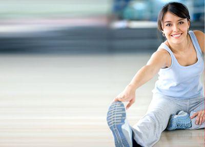 在总的身体锻炼与减肥 10 分钟