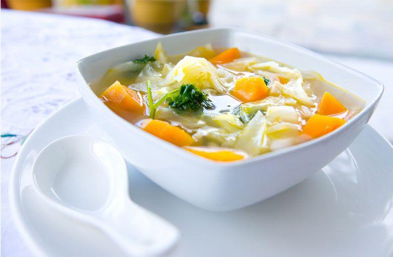 指南和卷心菜汤减肥食谱
