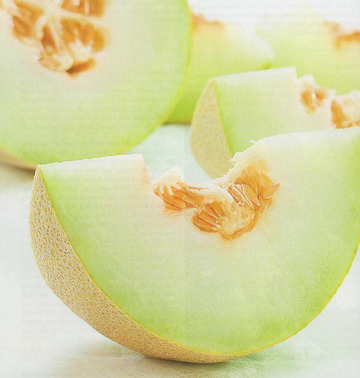 Sveže melone, sladek in dobro za zdravje