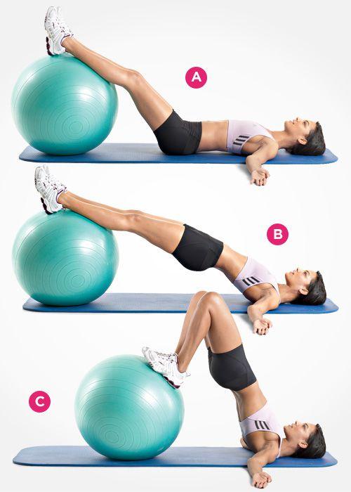 这种操锻炼: 臀大肌和腘绳肌