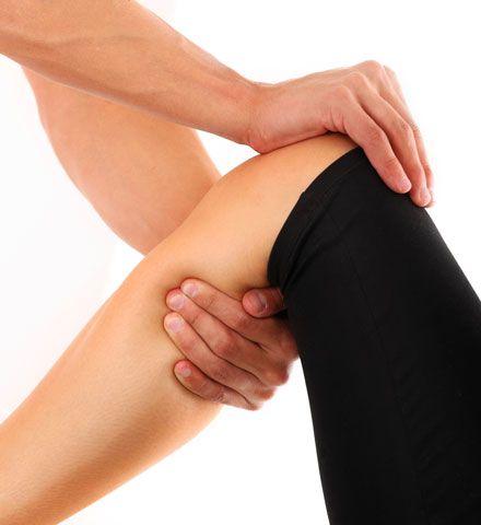 Kniesehnenentzündung: Behandlung und Symptome
