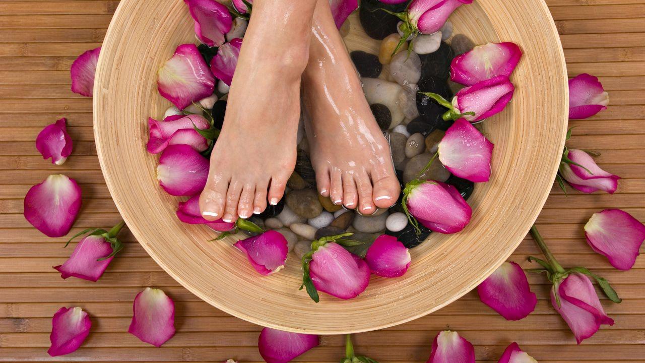 Beleza e estética dos pés