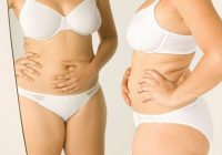 Cómo curar el estómago hinchado y duros