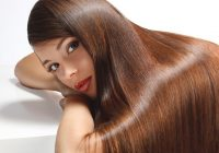 Behandlung zur Glättung der Keratin-Haare