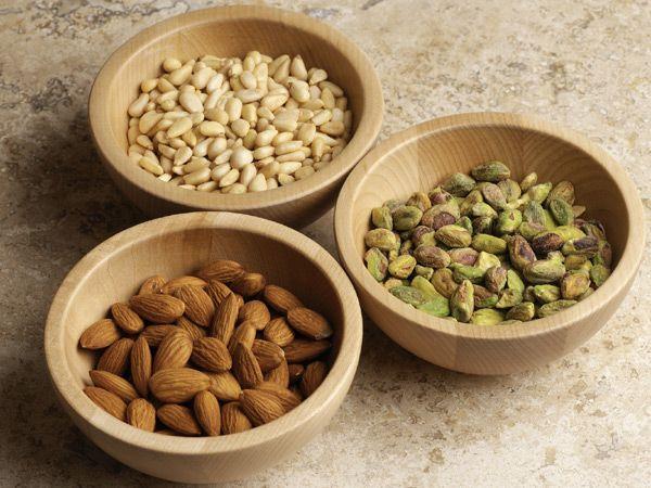 izguba teže, jedo oreški
