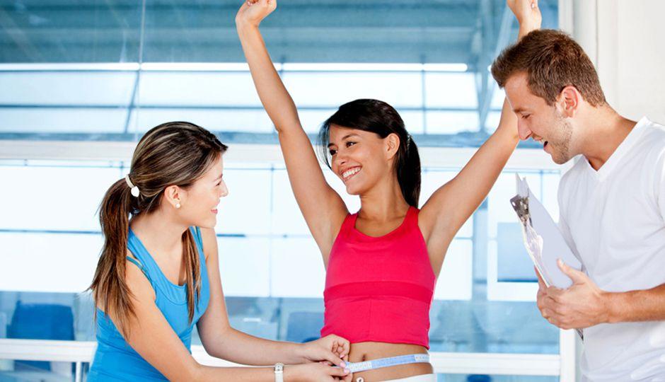 快速减肥 , 保持健康的体重