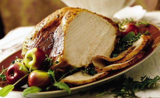 Receta saludable Turquía