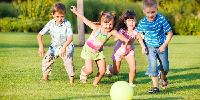 La actividad física en niños