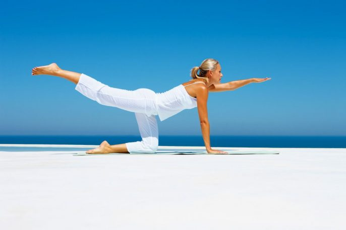 realizar ejercicios, yoga ,salud del corazón