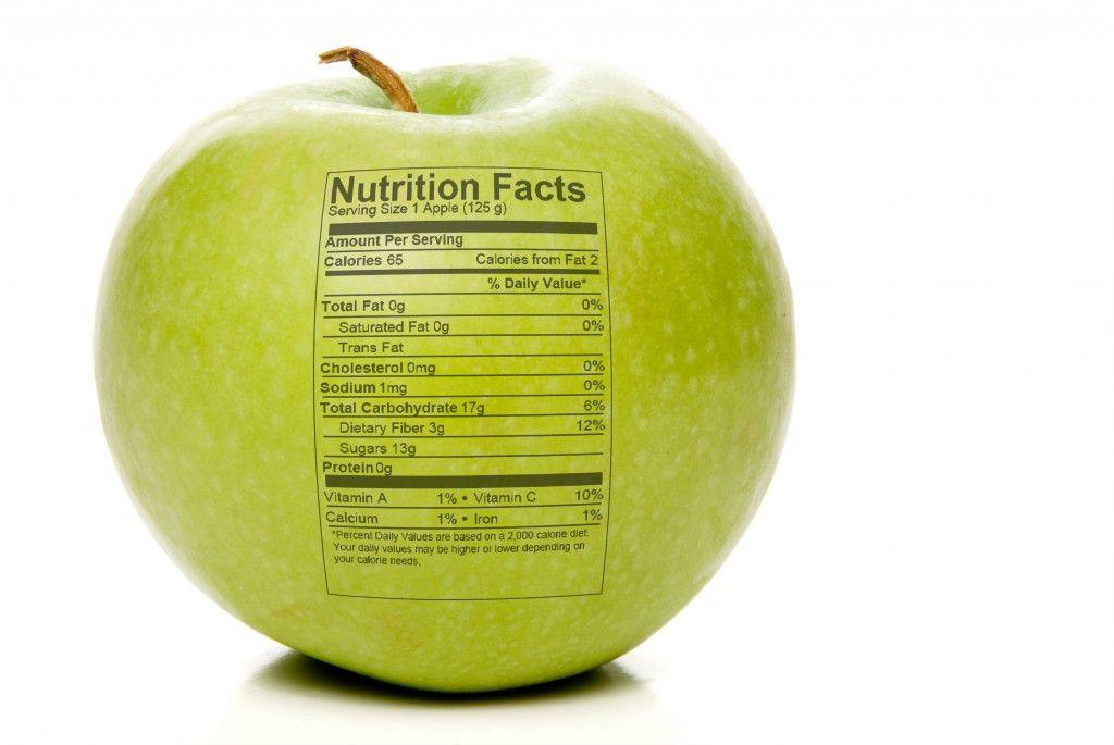 leer las etiquetas de nutrición para perder peso