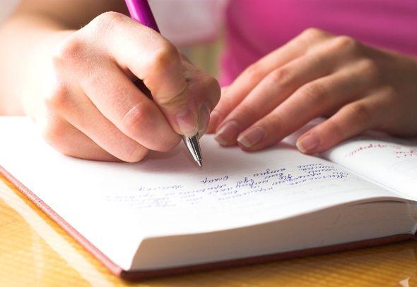 Atingir seus objetivos na vida e saúde, escrevendo sua história