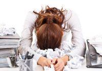 körperliche Symptome von Stress
