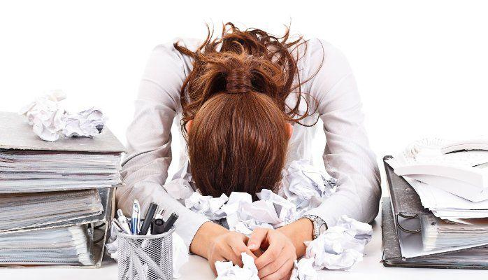 symptômes physiques du stress
