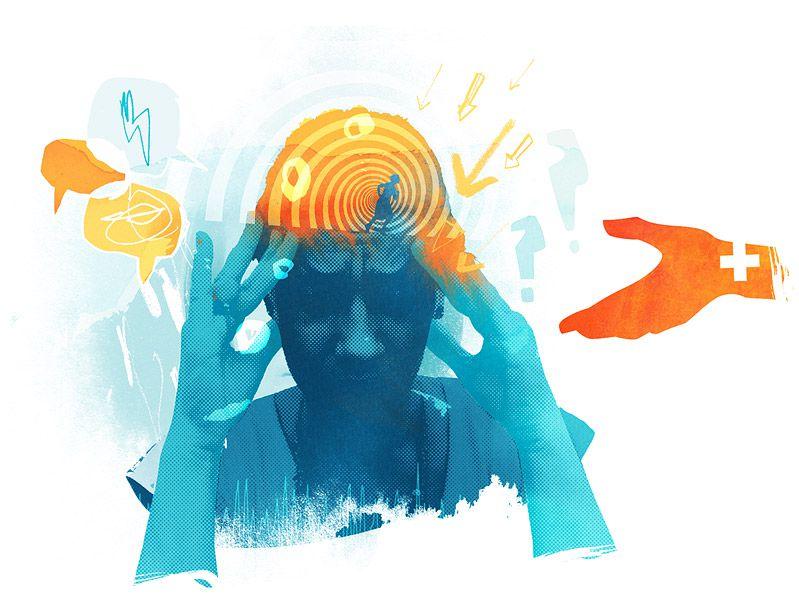 分裂情感障碍: 更多比精神分裂症