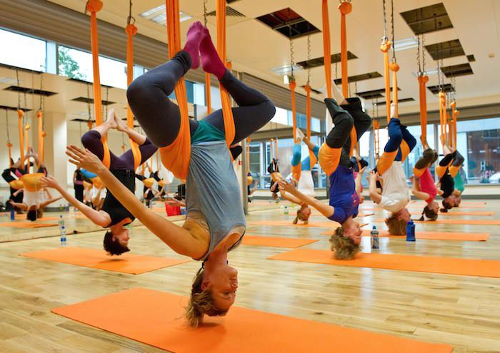 Antigravity Yoga, Joga zraka