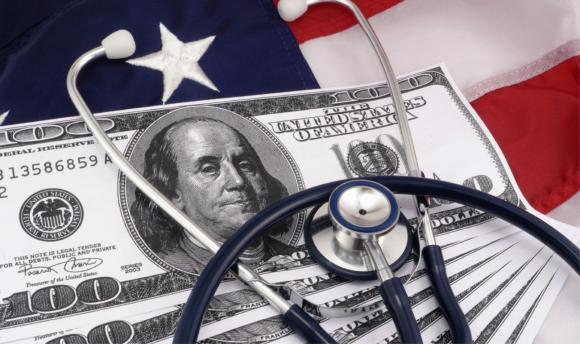 Desigualdade de renda direta de problemas de saúde nos Estados Unidos. UU.