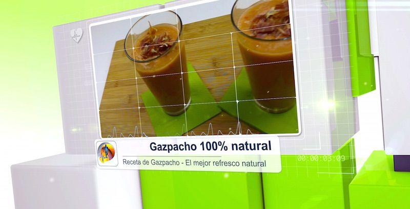 गैज़्पाचो - प्राकृतिक वनस्पति पेय