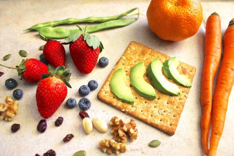 让你健康的零食