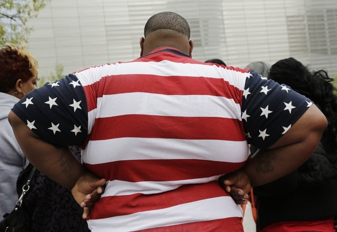 As taxas de obesidade nos americanos atingiram um teto
