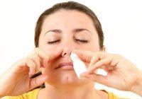 Adicción a las gotas nasales