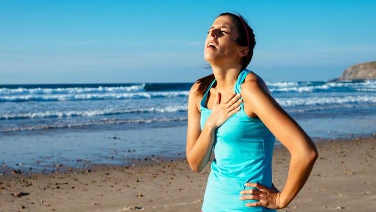 Bolečine v prsih med fizično aktivnostjo